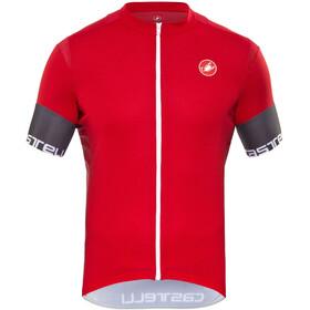 Castelli Entrata 2 Jersey FZ Men red